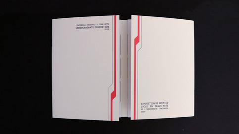 undergradutate exhibition catalogue