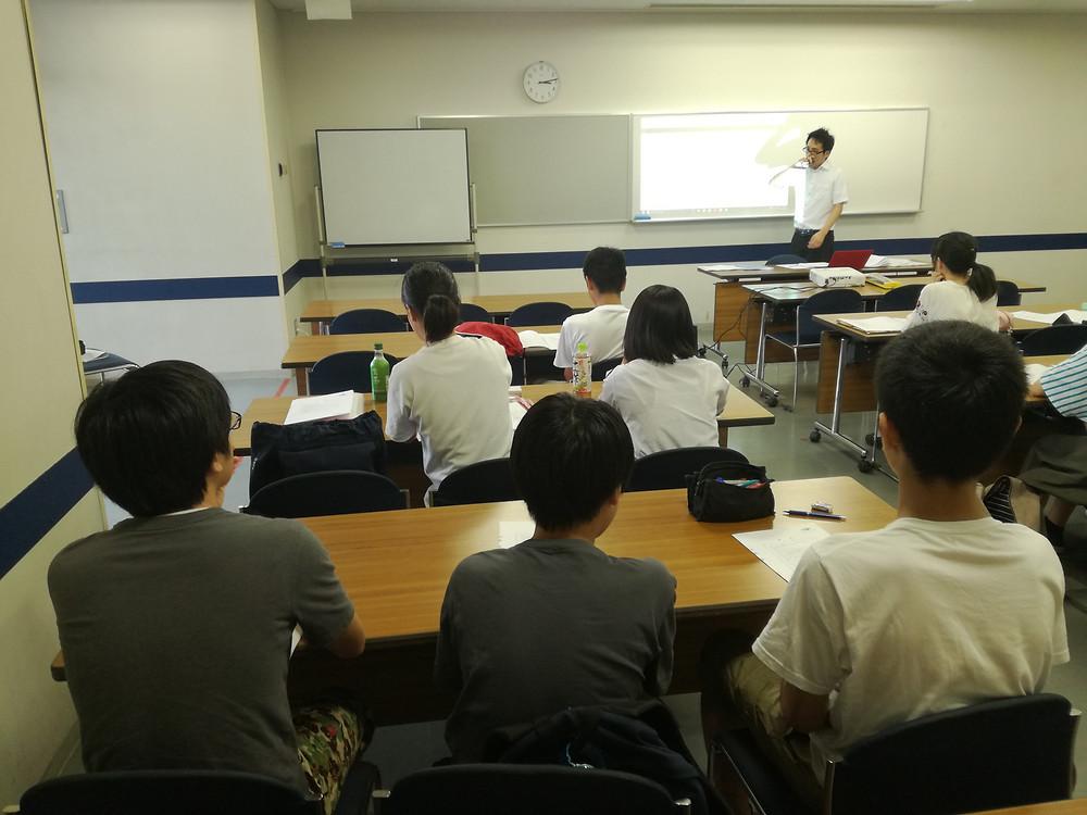 9月1日の会場での特別講習の様子です。