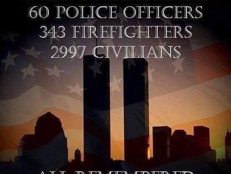 No regrets, accept your past, even the tragedies. My first time accepting that 9/11 had to happen.