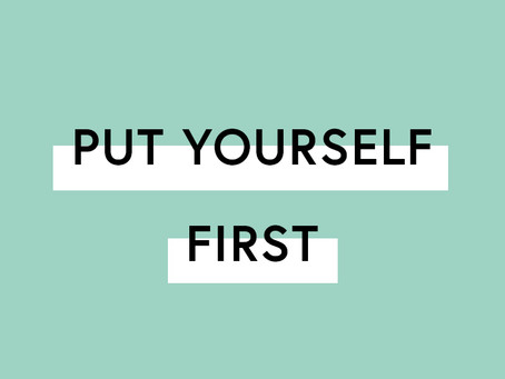 The day I put myself first, without guilt or regret!