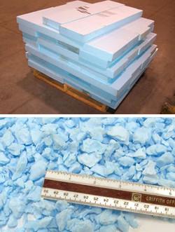 Panneaux d'isolation HDPE