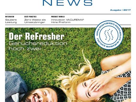 Le nouveau Recycling News d'Erema est disponible