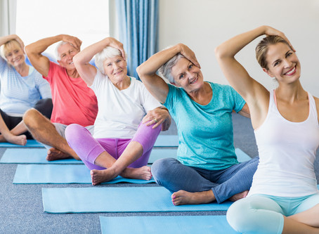 Matrix Rhythm Therapy in Combination with Yoga Improves Quality of Life in Older Population
