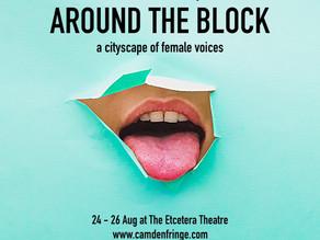 AROUND THE BLOCK @ THE ETCETERA THEATRE – BOOK NOW!