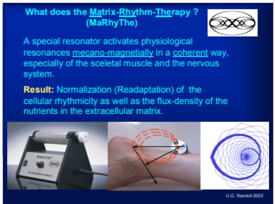 matrix rhythm therapy for lymphatic system health