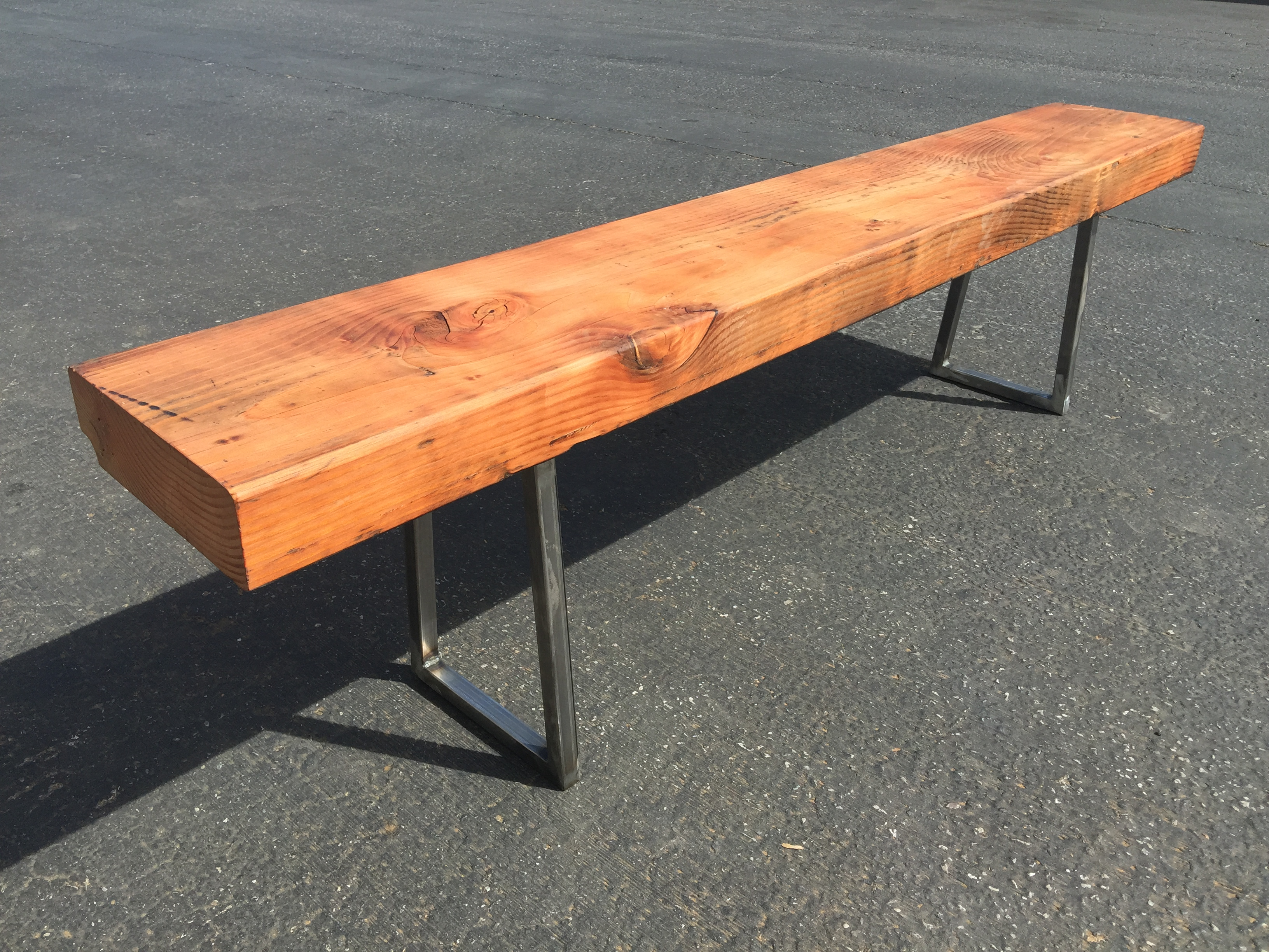 "3"" thick bench"