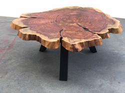 #statuswood #coffeetable #redwoodslab #