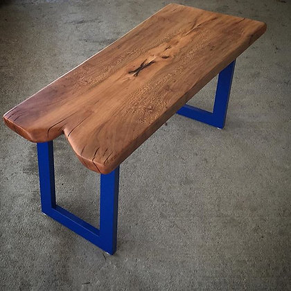 Sycamore book matched coffee table