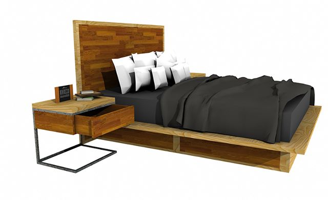 CONCEPT 3D DRAWING / PLATFORM BED