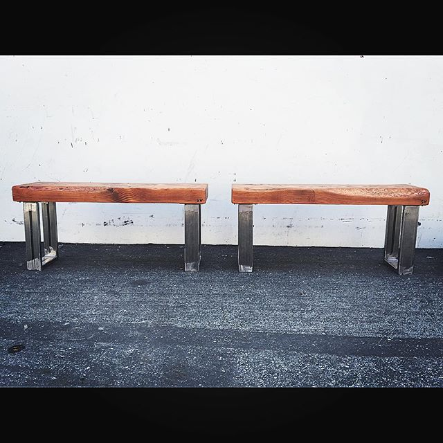bold looking benches