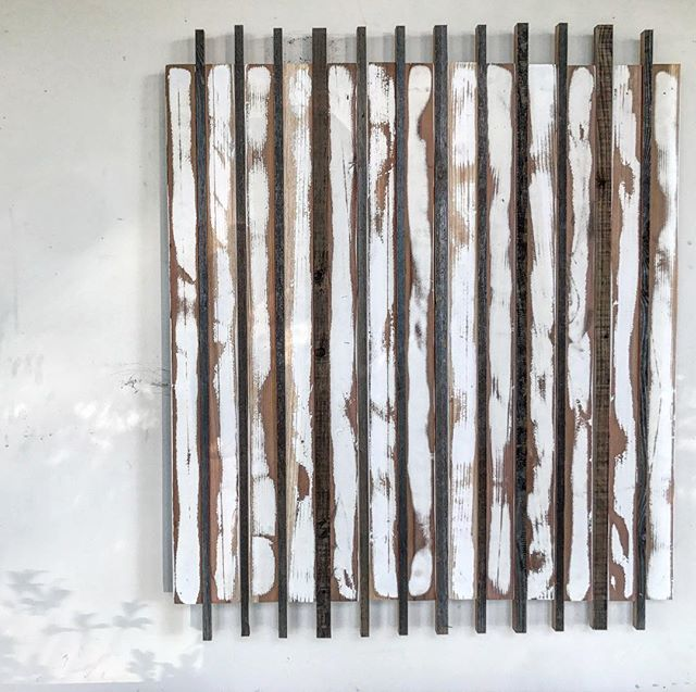 Reclaimed wood wall art/SW
