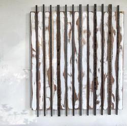 Reclaimed wood wall art/SW