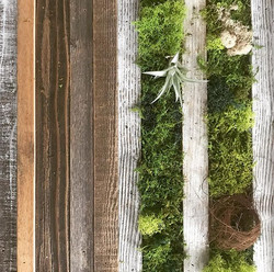 Moss art +rustic wood #statuswood #rusticart #mossart #moss #reclaimedwooddecor #wooddecor #wooddesi