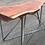Thumbnail: Redwood Slab Console on Metal Ribbon Base