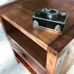 side tables out of reclaimed wood