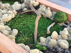 Custom moss art panels #statuswood #mossart #creativedesign #uniquedecor #decorating #interiordesign