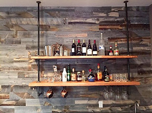 Cool Bar Design #STATUSWOOD #custommade #handcraftedfurniture  #reclaimedwood #reclaimedwoodfurniture