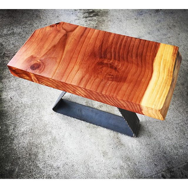 #Statuswood side table