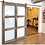 Thumbnail: Barn Door with glass inserts