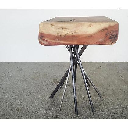 Sequoia slab side table