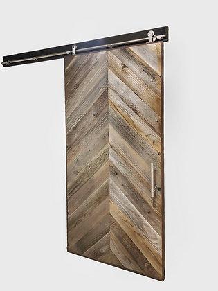 Chevron pattern Barn Door