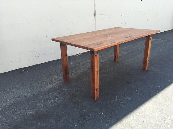 Reclaimed Douglas Fir Farm Table