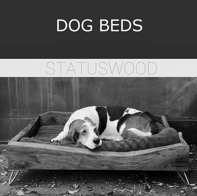 #STATUSWOOD #dogbed #doglover #petfurnit