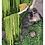 Thumbnail: Hanging Jungle Moss and walnut wood wall art
