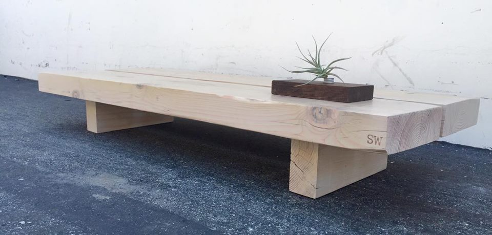 Tokyo style bench