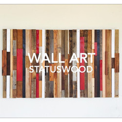 WALL ART/ RECLAIMED WOOD