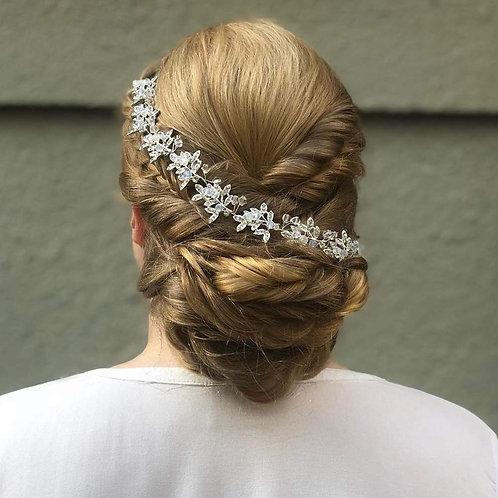 Silver Rhinestone Headband