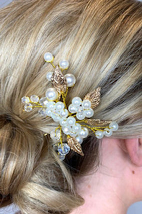 Bride Wedding Crystal Hair Pins Flower