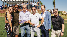 Footballers back the launch of the new villa project The Heights at La Resina Golf