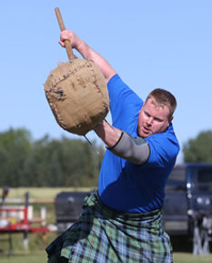 Calgary highland games sheaf