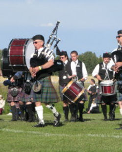 calgary highland games piping drumming