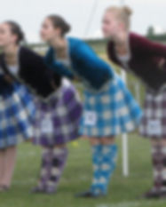 calary highland games dancers