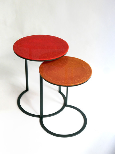 """Cassie"" Ottan Side Tables"