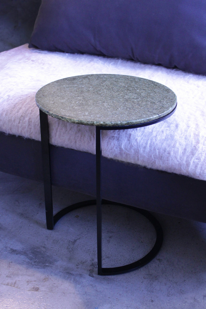 """""""Cassie"""" Ottan Side Tables from Palm Leaves"""