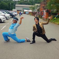踊る警備員橘さんとのコラボ