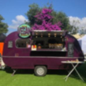 Caravana La Teca Van, un foodtruck vegano