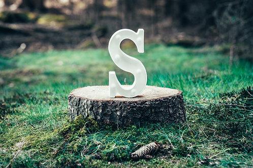 LED písmeno S