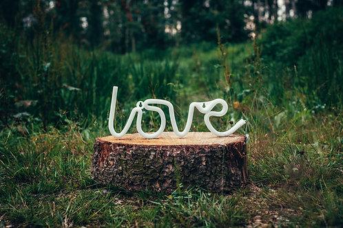 LED nápis Love