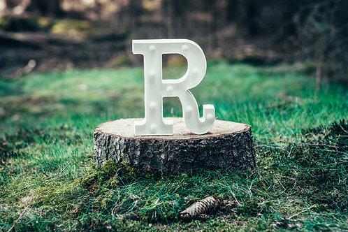 LED písmeno R