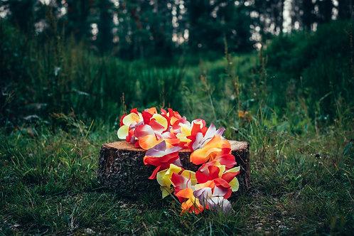 Havajský květinový věnec