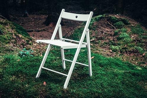 Židle obřadní bílá