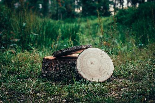Dřevěná kulatina + - 20 cm