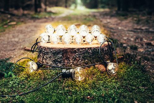 Designový LED světelný řetěz 15 m