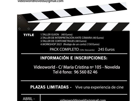 TALLERES DE CINE 2021