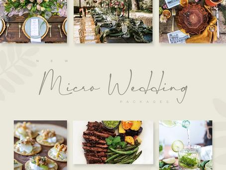 NEW MICRO WEDDINGS!
