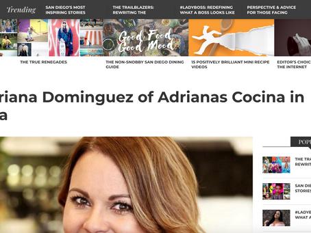 Adriana's Cocina SD Voyager Interview